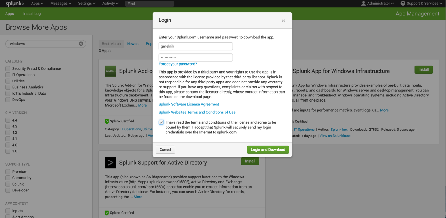 Splunkbase self service cloud login.png