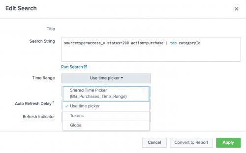 Create dashboards and panels - Splunk Documentation