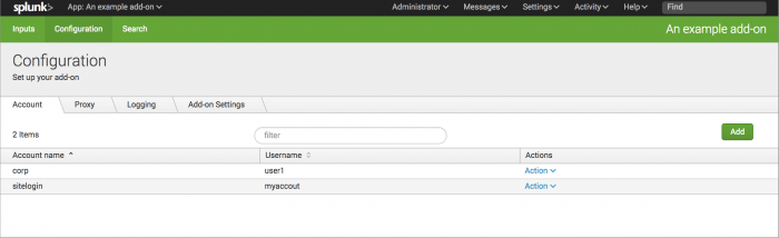 Configure data collection using your Python code - Splunk