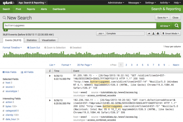 Tutorials splunk newsearch view.png