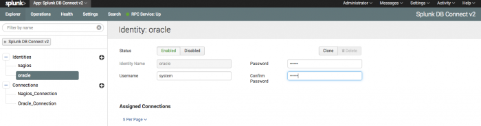 Configure Splunk DB Connect v2 x inputs for the Splunk Add-on for