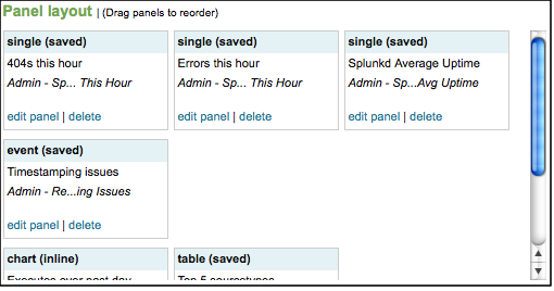 create simple dashboards with the visual dashboard editor splunk knowledgebase splunk developer guide